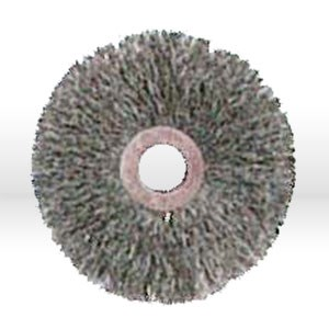 "Picture of 07756 Jaz USA Crimped Wire Wheel Brush,3"",Small,.014"",Steel"