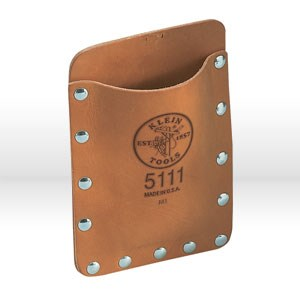 "Picture of 5111 Tool Holder,Pocket Tool Pouch,Leather,5"" WIDTH,7"" HEIGHT,LEATHER MATERIAL"