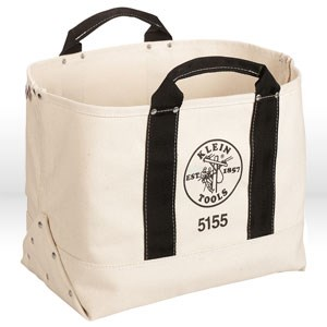 "Picture of 5155 Tool Bag,# 6 Canvas,17"" WIDTH,9 INCH THICKNESS,12"" HEIGHT"
