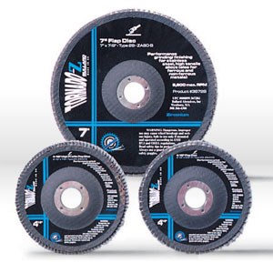 Picture of 36624 Bullard Flap Disc,Tornado-Z Std. Profile TYPE 29,4 1/2x7/8