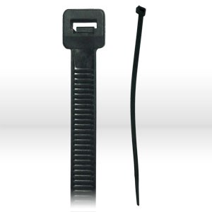 "Picture of 6-18-UV-100 Alliance Miniature Cable Tie,L 6"",18 lbs,Black"