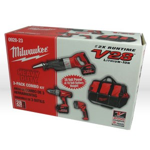 Picture of 0928-23 Milwaukee V28 Combo Kit