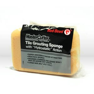 Picture of 2921 Red Devil Grout Sponge,Tile grout sponge