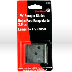 Picture of 3062 Red Devil Scraper Blade,Replacement double edge,#3040,#3040WD,1-1/2""
