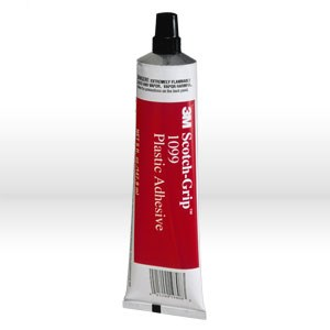 Picture of 21200-19808 3M-Grip Plastic Adhesive,Nitrile high performance plastic adhesive 1099,Tan,5 oz tube