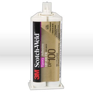 Picture of 21200-22648 3M Epoxy,Scotch-Weld epoxy adhesive DP100,Clear,1.7 fl oz2