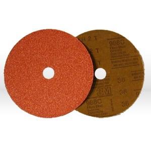 """Picture of 51111-55753 3M Fiber Disc,Roloc fiber disc 988C,4"""",Aluminum Zirconia"""