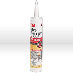 Picture of 51115-11638 3M Fire Protection Sealant,Fire barrier sealant CP 25WB+,10.1 fl oz cartridge2