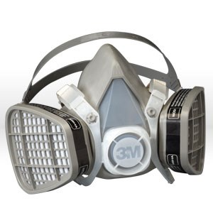Picture of 51138-21571 3M Disposable Respirator Kits,5201,Organic Vapor,M