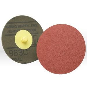 """Picture of 51144-22349 3M Fiber Disc,Roloc fiber disc 983C,3"""",Aluminum Zirconia,36 Grit"""