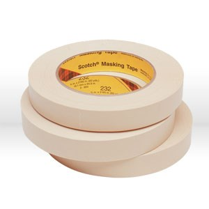 Picture of 21200-02853 3M Masking Tape,Scotch high performance masking tape 232,Natural,18mm x 55 m8