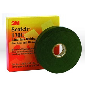 "Picture of 54007-15025 3M Splicing Tape,Scotch rubber splicing tape,3/4""x30ft (19mm x 9.1 m) Ht-0020-0130-9"