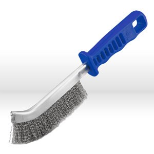 """Picture of 85130 Jaz USA Hand Scratch Brush,Plastic handle,Face 5/8"""",Wire.012"""",Stainless steel"""