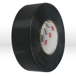Picture of 21200-22773 3M Duct Tape,6969,Black,48mm x 54.8 m,Guage/10.7 mil