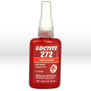 Picture of 27240 Loctite Thread Sealant,# 272 thread locker,50 ml bottle 1.69 oz