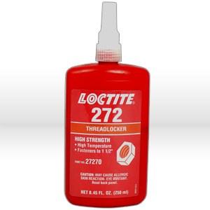 Picture of 27270 Loctite Thread Sealant,# 272 thread locker,250 ml bottle 8.45 oz