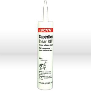 Picture of 59575 Loctite SUPERFLEX Silicone Sealant,Clear RTV,300 ml cartridge 10.15 oz