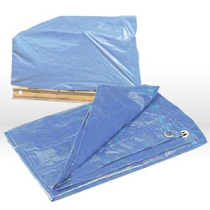 Picture of 00057 CSM Tarps Economy Utility Tarp,Weave/8x8,Gauge 4.75 mil,5x7,Blue