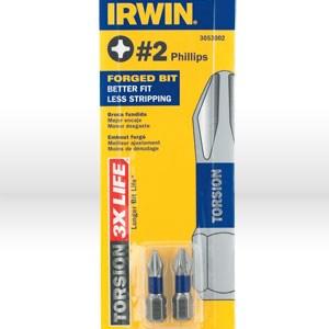 "Picture of 3053002 Irwin1"",# 2 Insert TORSION screwdriver bit pc"