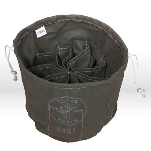 Picture of 5151 Klein Tools,10-compartment drawstring bag