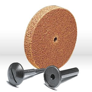 "Picture of 48011-03740 3M-Brite Cut and Polish Unitized Wheel,3""x1""x1/4"",Grit 7A MED"