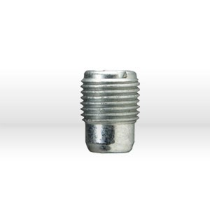 "Picture of 1452 Alemite Standard slotted flush type fitting,1/8"" NPT,17/32"" OAL,5/box"