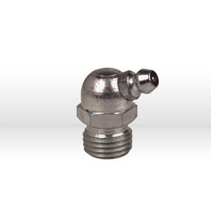 "Picture of 1629-B Alemite Grease Fitting,Hydraulic Fitting 67-1/2 Deg 31/32x1 PT,1/4"" PTF"