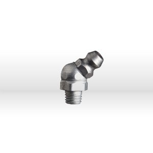Picture of 1637-B1 Alemite Grease Fitting,Hydraulic Fitting 45 Deg 1/4-28 Tp 3/8 HEX