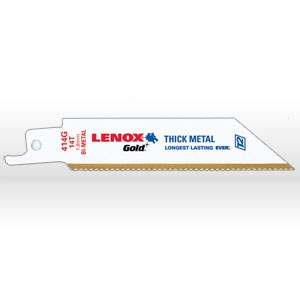 """Picture of 21066 Lenox Reciprocating Saw Blade,4""""x3/4""""x35"""" 14t GOLD RECIP SAW BLADE"""
