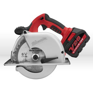 Picture of 0740-22 Milwaukee Cordless Circular Saw,SAW METAL CUTTING 6-7/8 28