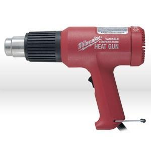 Picture of 8977-20 Milwaukee Heat Gun,HEAT GUN VARIABLE TEMP,11.6 Amp,140 to 1040Deg Fahrenheit
