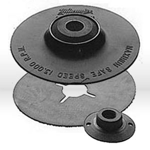 "Picture of 49-36-3455 Milwaukee Sanding Backing Pad,PAD 4-1/2"" BACKING KIT"