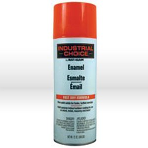 Picture of 1655830 Rust-Oleum Rust-OleumIndustrial Choice 1600 System Enamel,Flourescent Red-Orange,16 oz