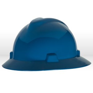 Picture of 454732 MSA Safety Hat,V-Gard W/Staz-On Suspension,Blue