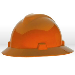 Picture of 454734 MSA Safety Hat,V-Gard W/Staz-On Suspension,Orange
