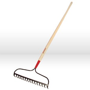 "Picture of 63141 Ames Razor-Back Bow Rake,16""x3-1/4"",15T,FGD,B15"