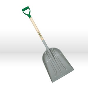 """Picture of 79770 Ames DH ABS Grain/Snow Scoop,14-3/4""""x18-3/4"""" blade"""
