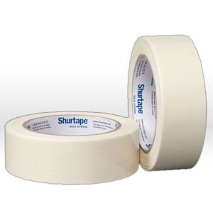 "Picture of 101006 Shurtape Masking Tape,1"",60yds,Tan,5 mil"