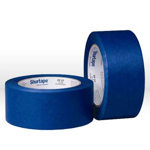 "Picture of 202879 Shurtape Masking Tape,1-1/2"",L 60yds,Blue,5.7 mil"