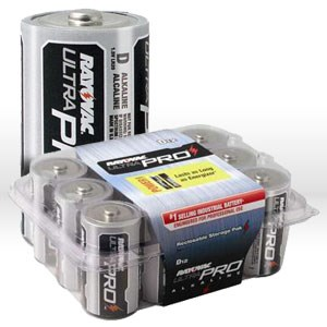 Picture of ALD-12 Ray-o-Vac Battery,D,Alkaline