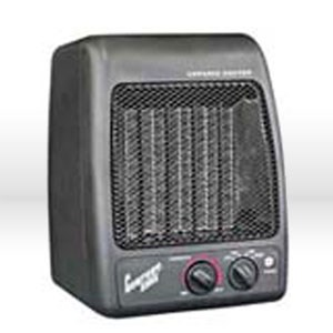 Picture of CZ441 Alliance Ceramic Heater 900/1500 Watts Adjustable Thermostat 9.75x7.5x7.25""