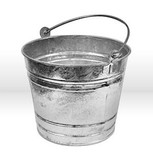Picture of MET28 Alliance Pail,14 Qt,Galvanized metal