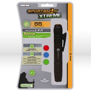 Picture of SP1WCLIP-B Ray-o-Vac Sportsman Flashlight,2AA,LED