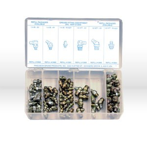 Picture of 12945 Precision Grease Fittings,Assortment,Standard,90 Pc