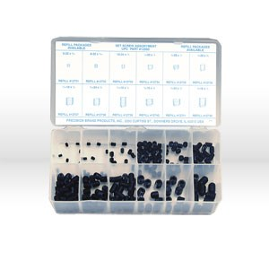 Picture of 12950 Precision Set Screw,200 Pc,Assortment