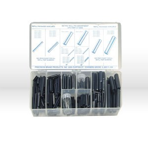 Picture of 12960 Precision Roll Pins,287 Pc,Metric,Assortment