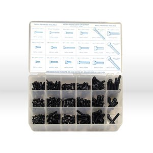 Picture of 12980 Precision Cap Screws,255 Pc,Assortment,Metric