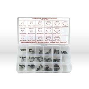 Picture of 13970 Precision Woodruff Keys,66 Pc,Stainless Steel,Assortment