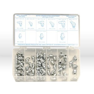 Picture of 13975 Precision Grease Fittings,95 Pc,Metric,Assortment