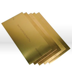 Picture of 17999 Precision Shim Stock,150mmx300mm (10 thicknesses),Metric,Brass,Assortment
